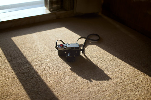 Leica MP, Sun light and shadow.