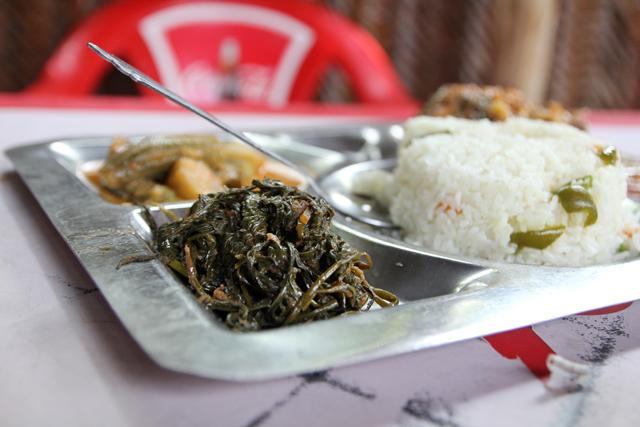 Mchicha, green vegetable