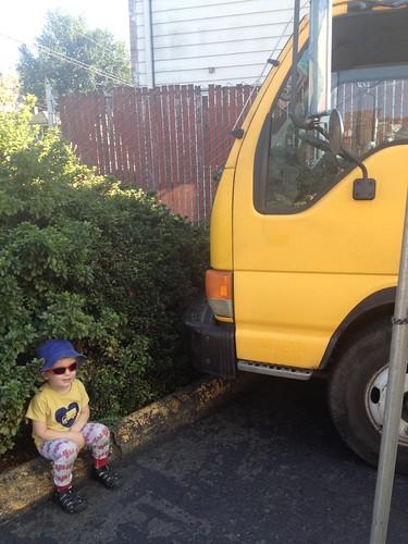 Yellow Truck Shirt + Yellow Truck