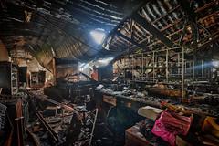 Burned UiTM Science Laboratory - The Lab 1
