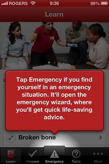 Red Cross Canada App