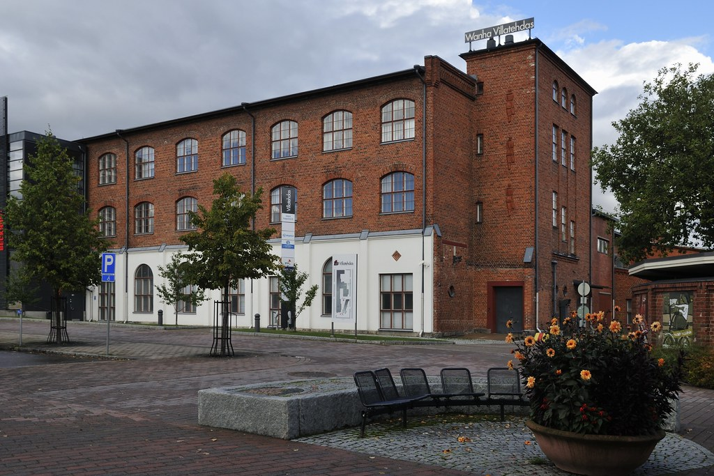 Wanha Villatehdas - Die alte Textilfabrik