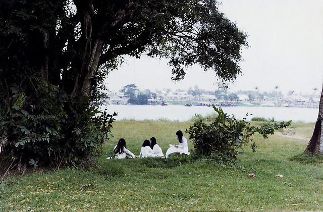 School girls - Hue 1970