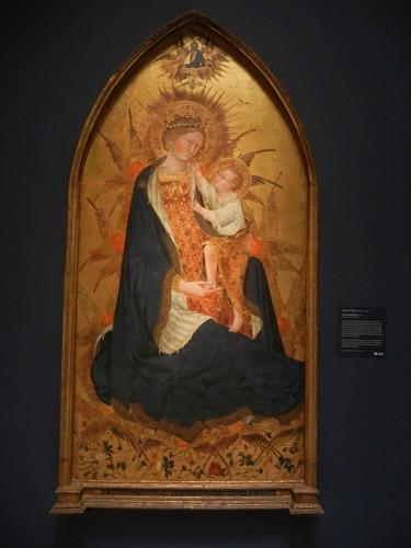 DSCN7698 _ Branchini Madonna, 1427, Giovanni di Paolo (1403-1482), Norton Simon Museum, July 2013