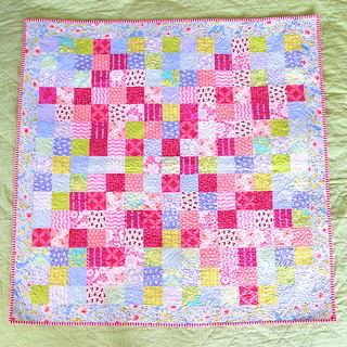 Blackberry Winter Blossom Quilt - finished