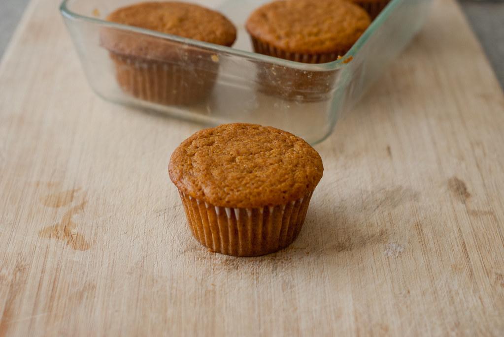 Pumpkin cupcake third batch