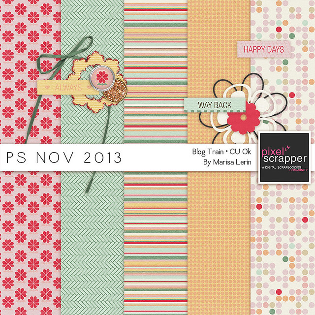 PS November 2013 Blog Train by Marisa Lerin