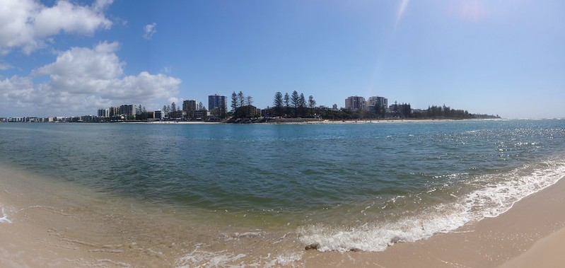 Looking towards Bulcock Beach, Caloundra