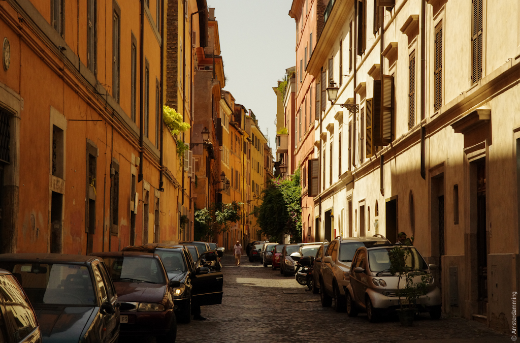 Rome, Streets and Buildings