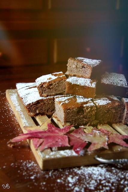 Torta soffice alla farina di castagne