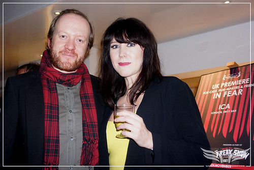 The Establishing Shot: IN FEAR PREMIERE - ACTOR WRITERS STEVE ORAM & ALICE LOWE @ THE ICA PRESENTED BY STELLA ARTOIS by Craig Grobler