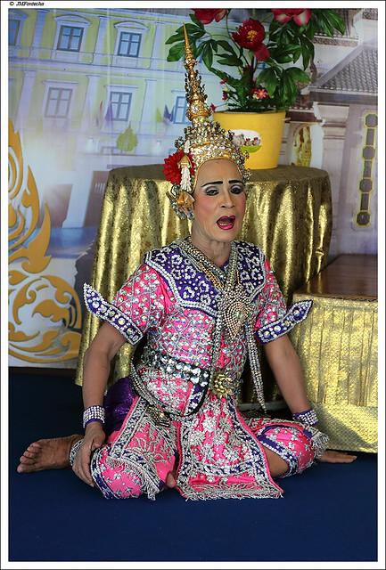 JMF233416 - Teatro tradicional tailandes - Bangkok-Tailandia