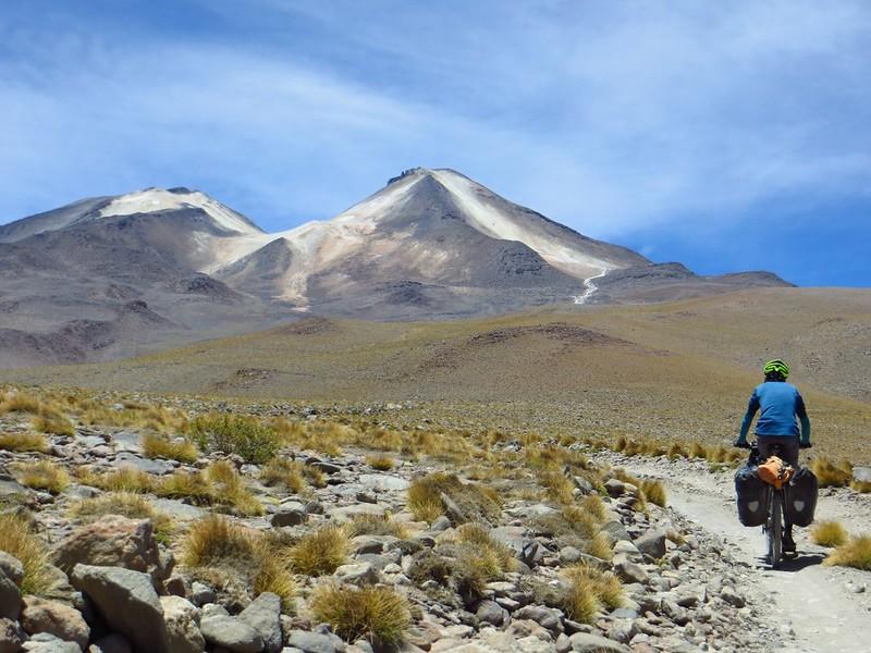 Nearing 5000m on the climb up Uturuncu