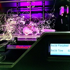 Something tells me this is not what it was supposed to look like! @therealchamada we need you! #makerbot