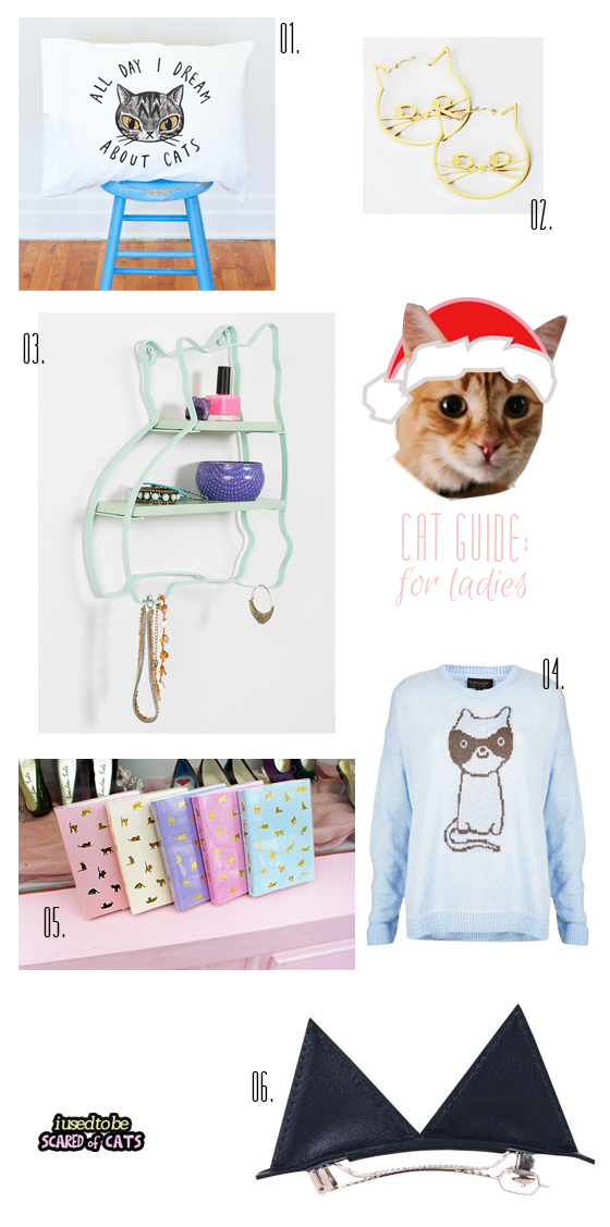 cat gift guide for ladies