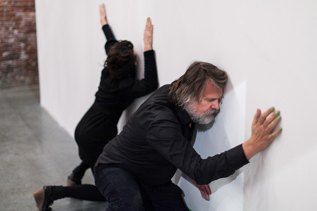 RU EXHIBITION: Bodies, Glass & Knives – A Performance By Christine Laquet & Robert Steijn