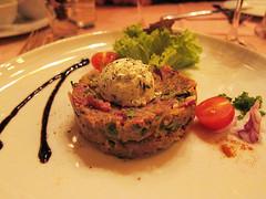 beef tartare (yum yum yum)