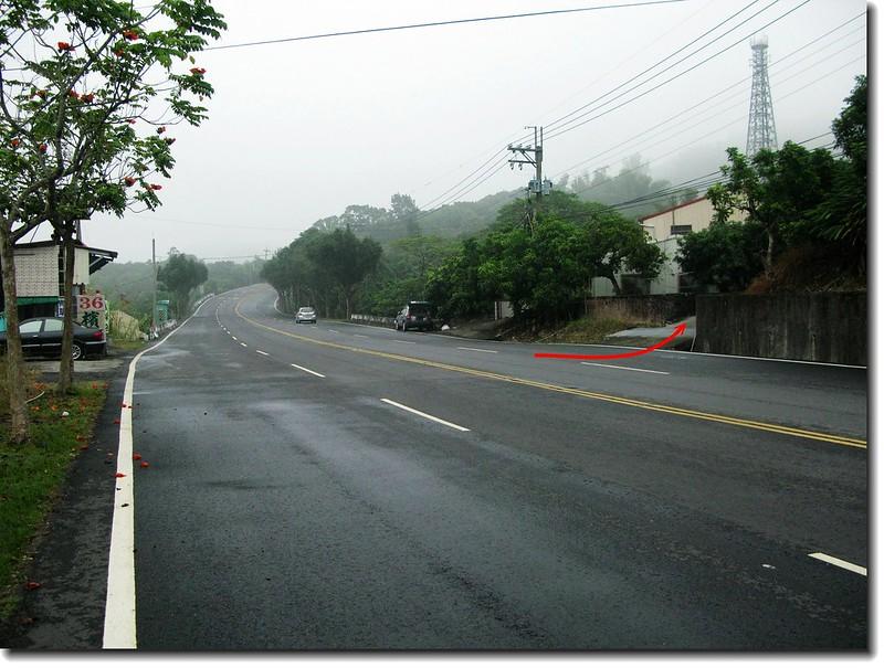 台南南化心仔寮山台3線388.6K登山口