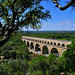 Roman aqueducts, Pont du Gard, South of France by natureloving