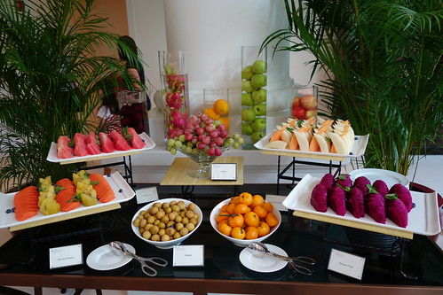 Fresh Fruits. Sunday Brunch. InterContinental Singapore