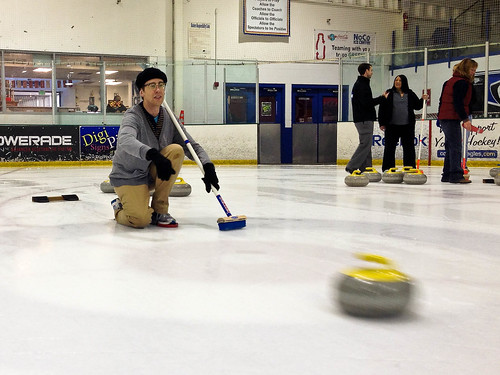 Drew Curling at NoCo Ice Center