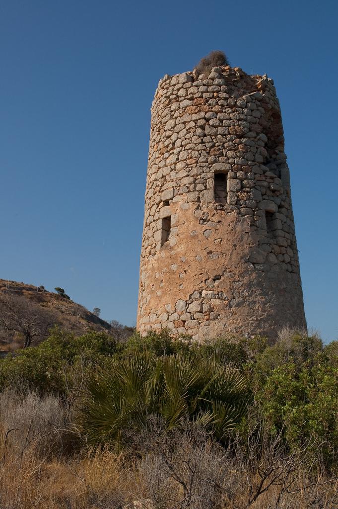 4. Torre de la Cordà, antes de su restauración. Autor, Luipermom