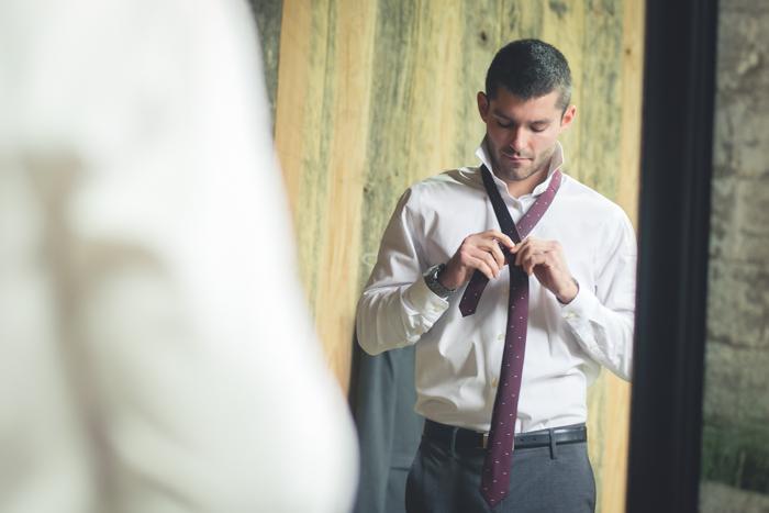 Tie in Mirror