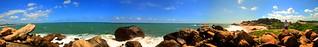 Rocky beach Pano