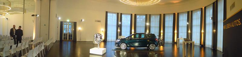 Start der Opel Meriva Roadshow