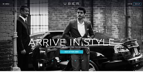 スマホで配車リクエストするUberに乗ってみた!