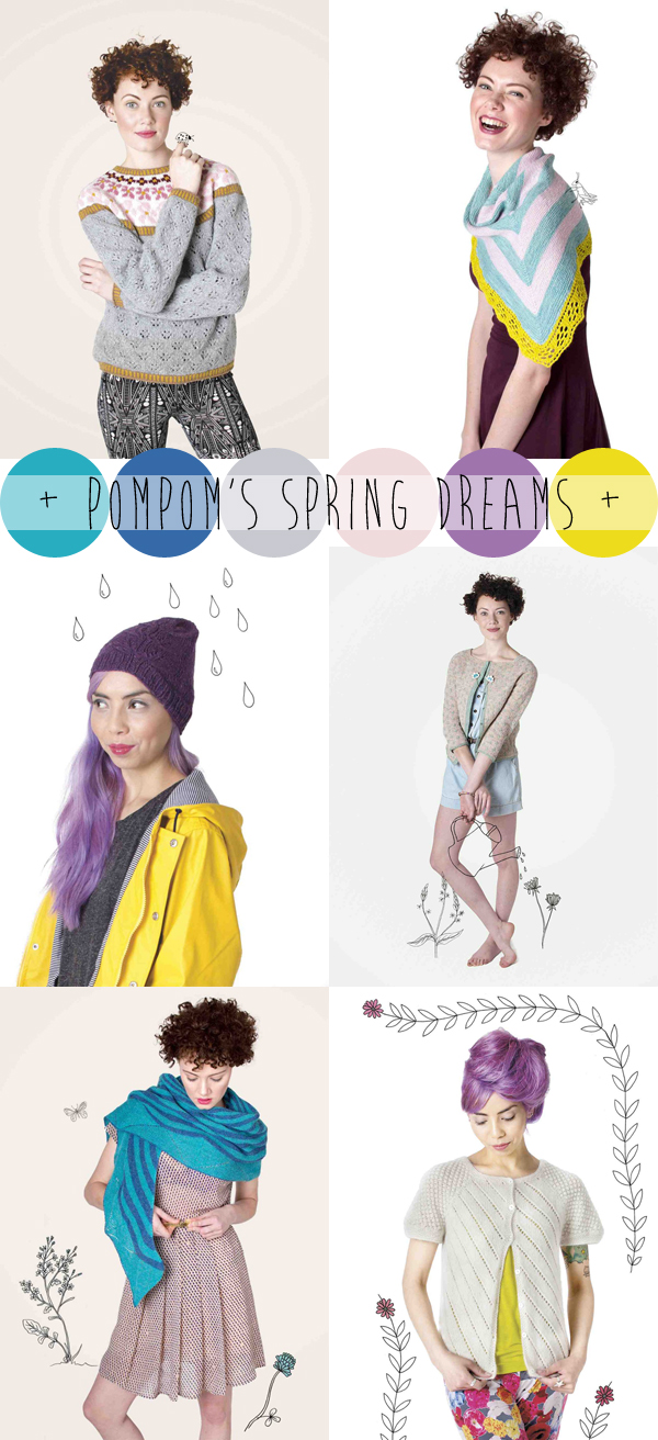colour crush : Pompom's spring dreams / Pompom Quarterly, Issue 8: Spring 2014 / photography by Juju Vail / via Emma Lamb