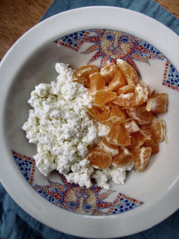 Cottage Cheese and Clementines