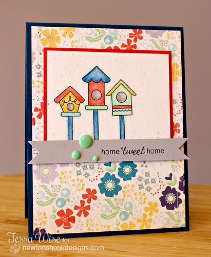 Birdhouse Card 1
