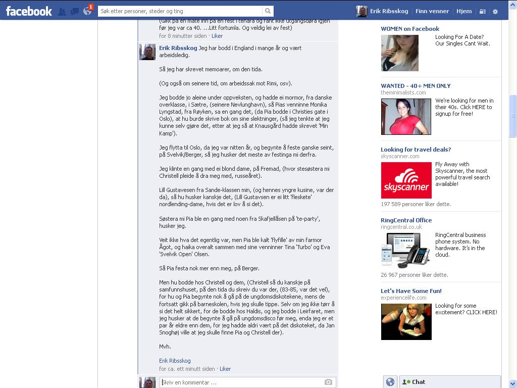 facebook svelvik