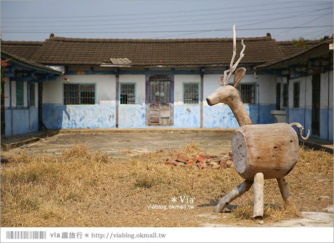 【台南後壁幾米】後壁土溝農村美術館‧農村就是美術館!幾米作品可愛現縱~37