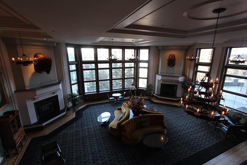 Rundel Lounge Banff springs Hotel
