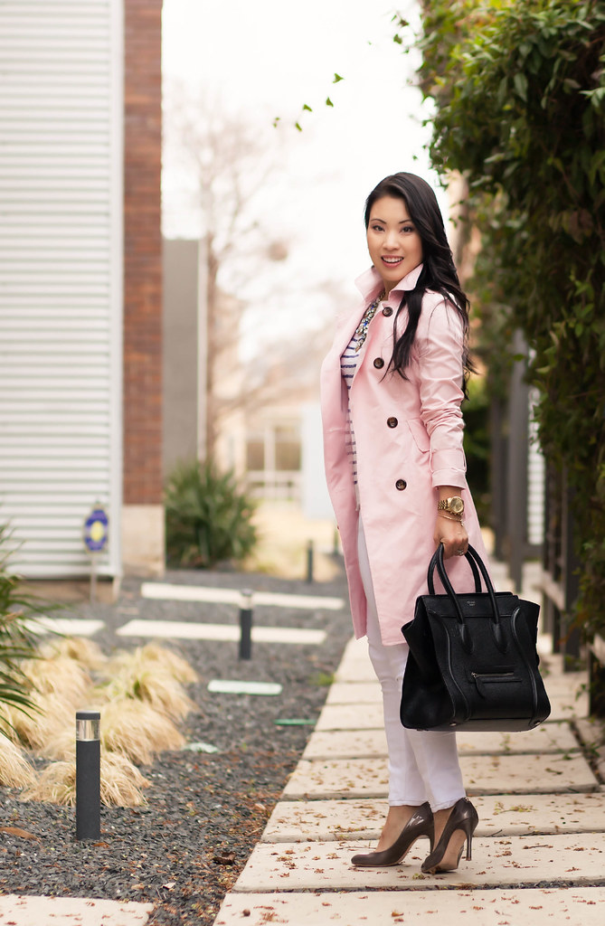 Spring Essential :: Pink Trench - cute &amp little