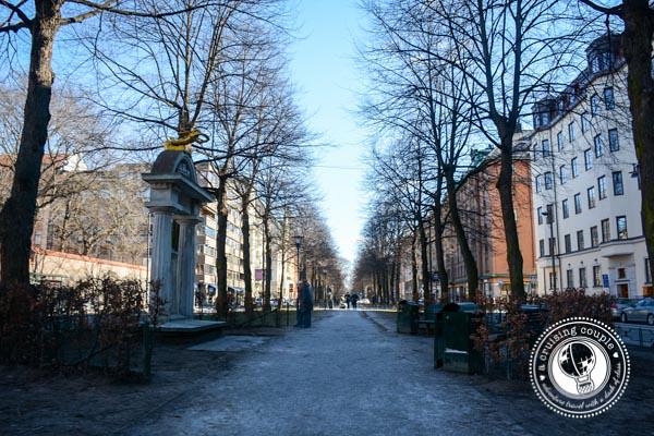 Pedestrian Walkway in Stockholm