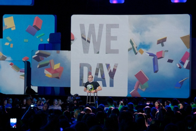 Spencer West at We Day Seattle