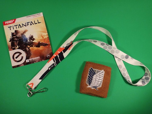 Loot Crate March 2014 Titanfall goodies