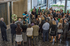 Friends and Family of Anne Smedinghoff Pay Tribute to her Service