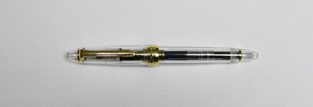 Review: @PenChalet Sailor 1911 Standard Clear Fountain Pen - Music Nib