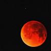 Moon and Spica by Adalberto.H.Vega