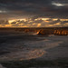 stormy sundown by zenofar