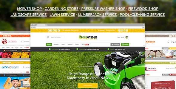 123 Garden WordPress Theme free download