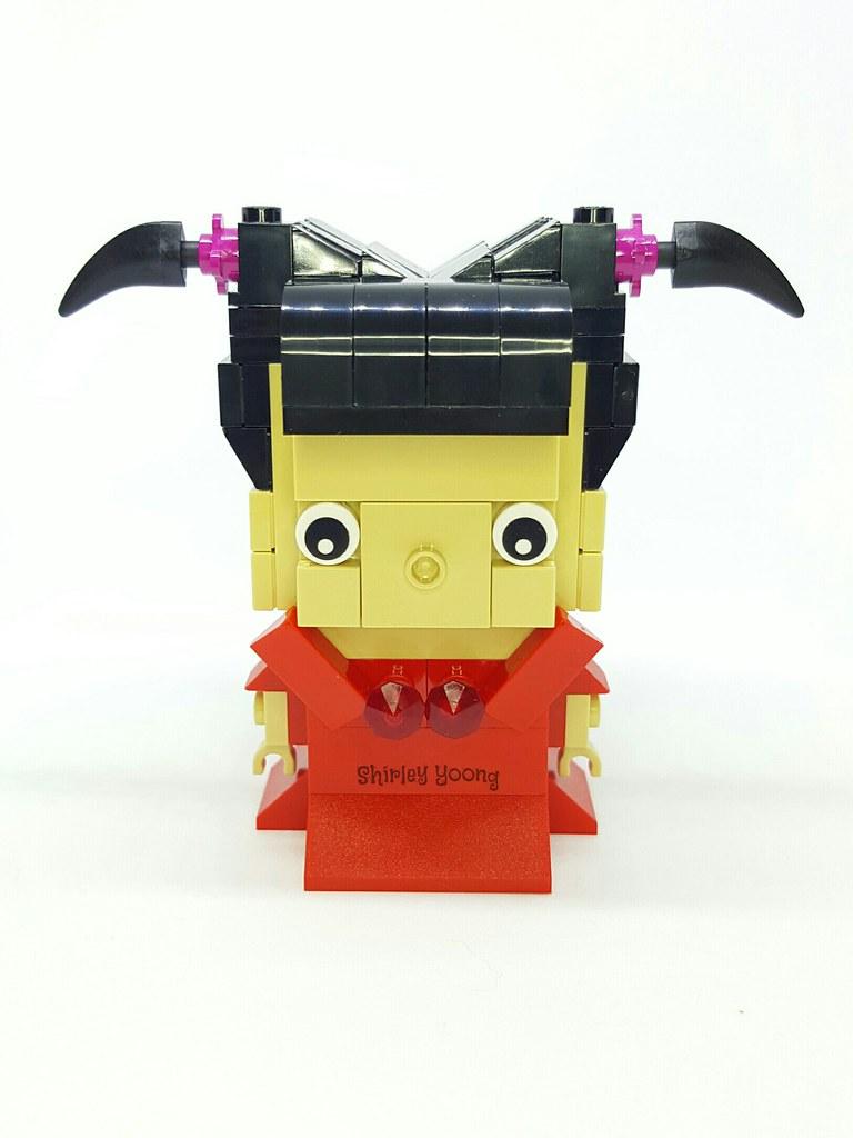 China Doll 中国娃娃 (custom built Lego model)