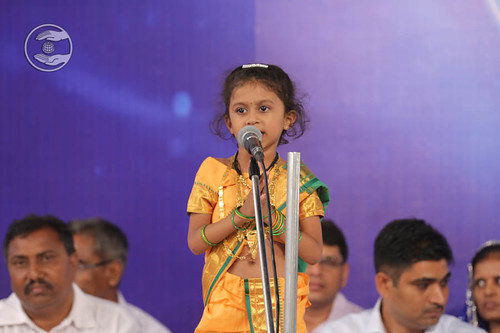 Devotional song by child devotee