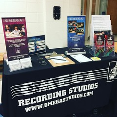 @omegastudios is very excited to be attending the #Sherwood High School College Fair! Stop by our booth to find out about our Audio Engineering School! #sherwoodhs #local