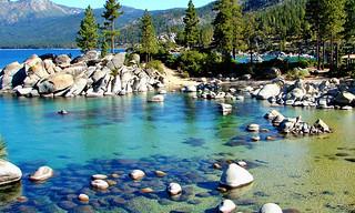 Clear Waters, Sand Harbor, Lake Tahoe, NV 9-10