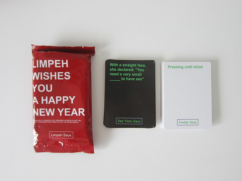 Limpeh Says - Kickstarter Special Expansion Pack